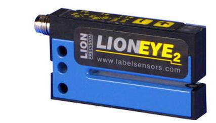 LION PRECISION LIONEYE2 Optical Label Sensor for non-clear labels