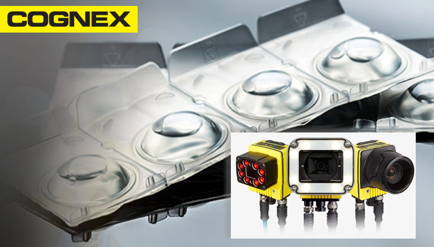 Packaging: Cognex In-Sight and Checker sensor applications
