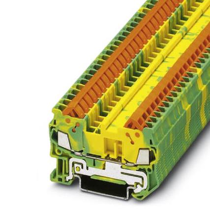 Phoenix Contact 3205035 Ground modular terminal block - QTC 1,5-PE - 32...