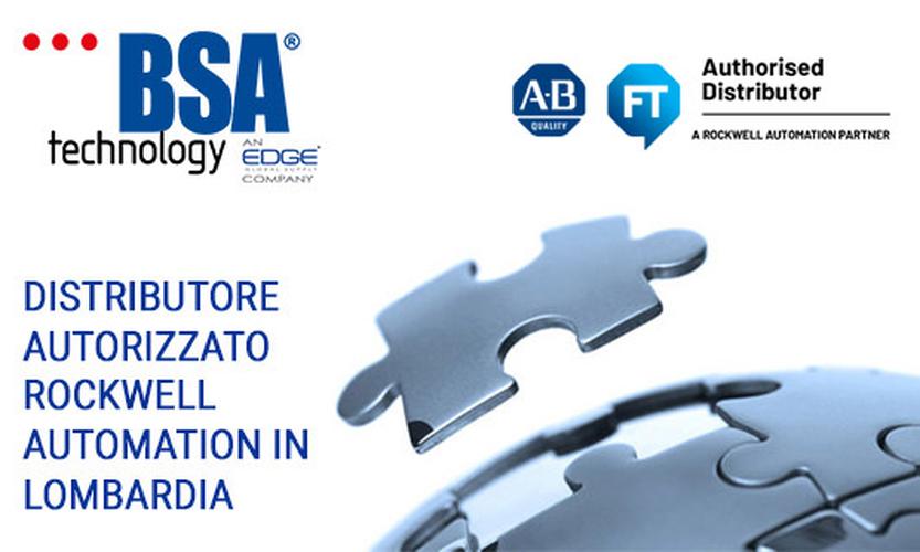 ROCKWELL AUTOMATION: TECHNOLOGY BSA DISTRIBUTORE AUTORIZZATO IN LOMBARDIA